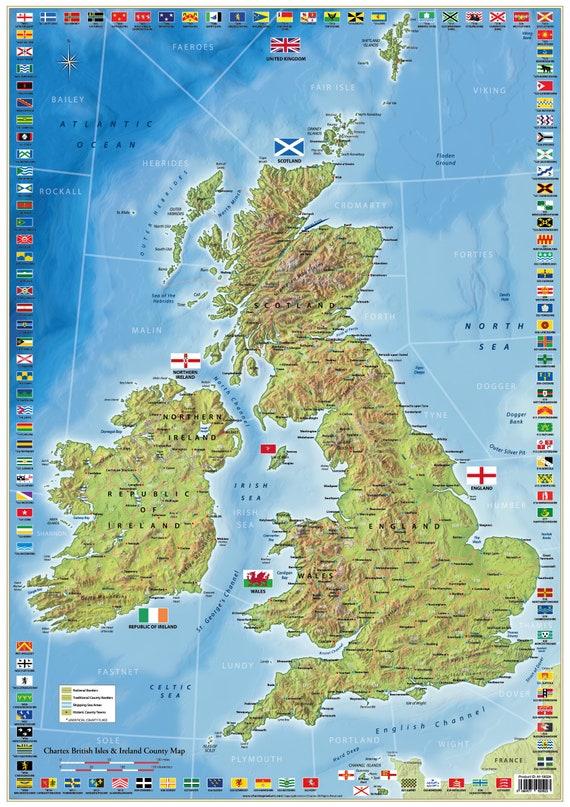 Map Of Uk Ireland.Uk And Ireland Map United Kindom County Map
