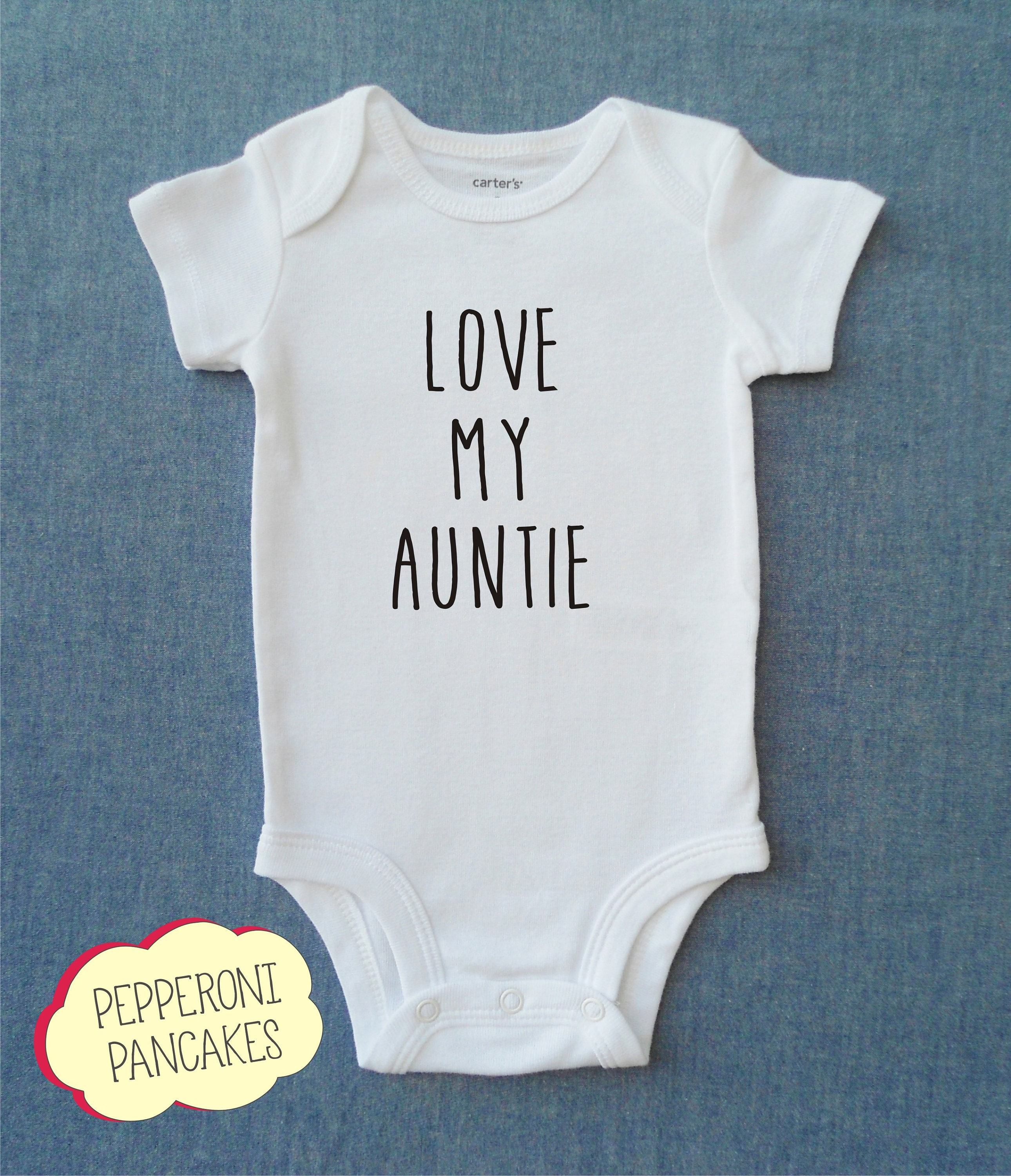 fbdf5733b0ca4 Love My Auntie / Baby Girl / Baby Boy / Cute Baby Clothes / Baby Shower  Gift / Baby