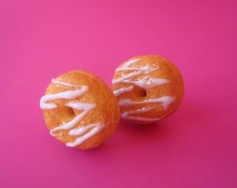 Glazed Donut Earrings