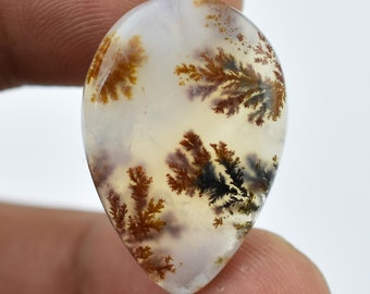 29.1 Cts Natural Robinson Ranch Plume Agate Cabochon Gemstone Oval Shape Robinson Ranch Plume Agate Loose Gemstone Free-Form,Pendant