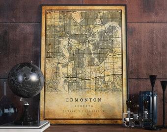 Edmonton poster | Etsy