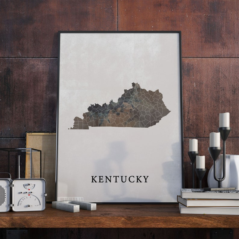 Kentucky Map Art Watercolor Print, State County Wall Art Poster Prints on kentucky zipcodes, kentucky tennessee airports, print map of kentucky counties, kentucky state capitol map, kentucky county map ky, kentucky county seat map, blank map of kentucky counties, kentucky state map detailed, indiana state map by counties, midwest state maps with counties, kentucky county map of counties, map of northern kentucky counties, indiana and illinois counties, kentucky state fish, state of kentucky counties, kentucky county map pdf, large map of kentucky counties, kentucky state travel map, kentucky county maps by worksheets, kentucky state map of ky,