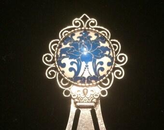 Glass Flower Bookmark