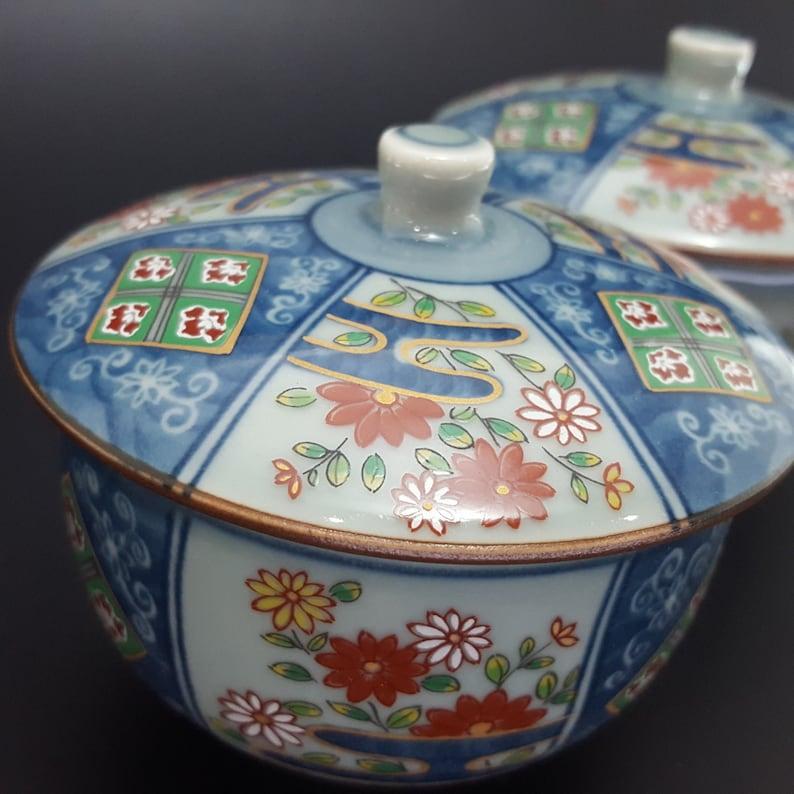 Arita Zui Tea Cup 5pcs WBOX from JAPAN