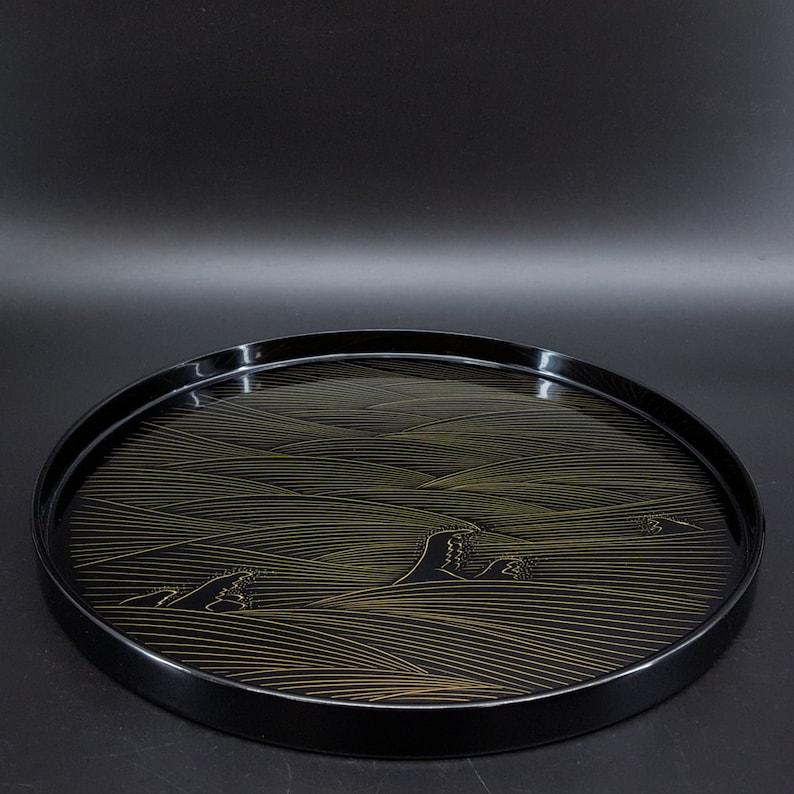 Wajima Lacquerware Tray 27cm WBOX