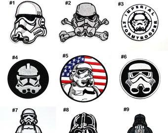 Vinyl Wall Decal Sticker Restroom Sign StormTrooper item OSMB159B