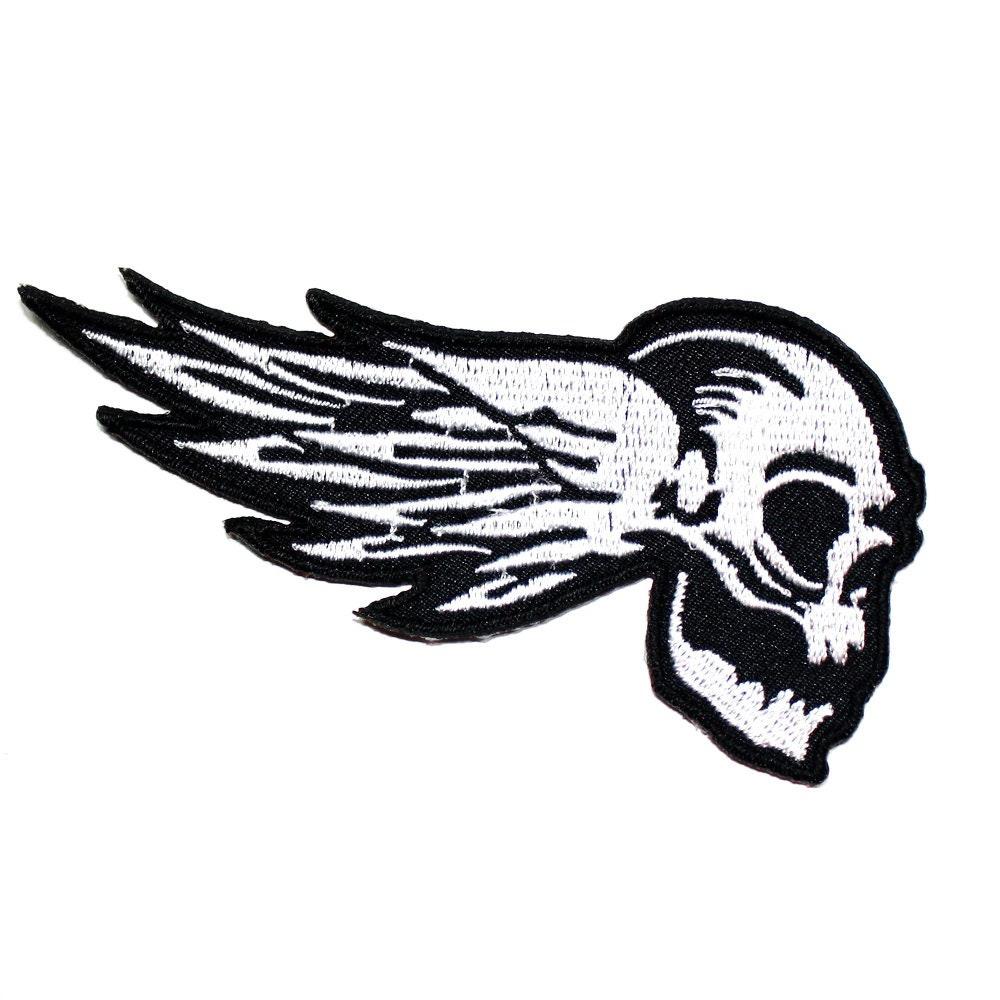 Ace of Spade Poker Carte rock punk Sport Racing Motard Emblème Veste iron on patch