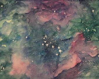 Galaxy V Original Watercolor
