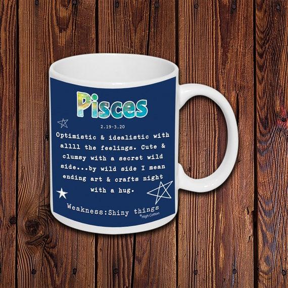 Taurus Gift Funny Horoscope Coffee Mug Personalized Zodiac Birthday Gift For Her