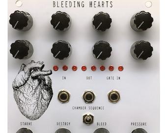 BLEEDING HEARTS ( Random Sequencer, Rhythm Generator, Destroyer and Filter Modular Device )