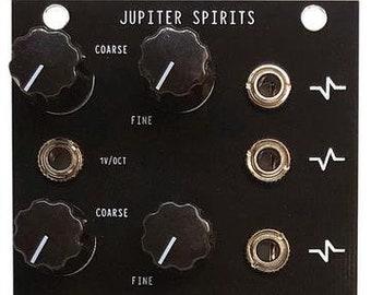 JUPITER SPIRITS (Four Voice Analog Oscillator Eurorack Modular Device)