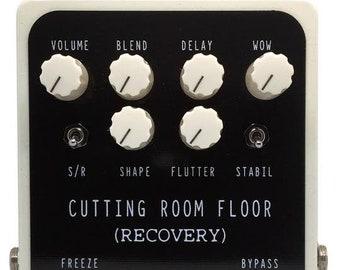 CUTTING ROOM FLOOR  ( Glitch, Pitch, Echo, Modulate Effects Pedal )
