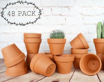Terracotta clay pots | Etsy