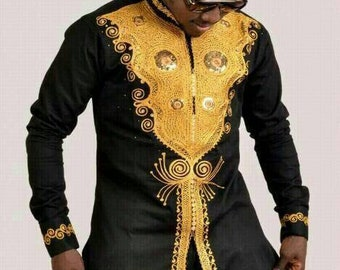 ad67039faf Ope African men shirt  African clothing African men clothing African men  shirt  dashiki summer prom groom suit