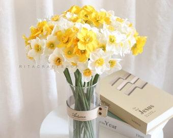 Daffodil Centerpiece Etsy