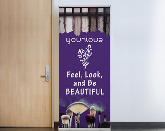 Younique Banners Purple Floral Banners
