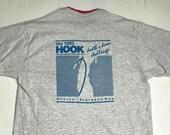 Vintage 1992 Great Lake Michigan Hook Yacht Race Double Collar Shirt Size XL