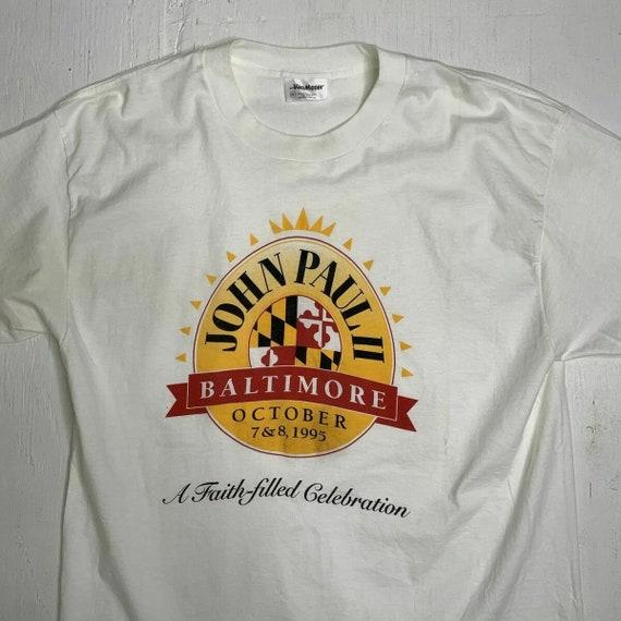 Vintage 90s Pope John Paul II Baltimore Maryland … - image 4
