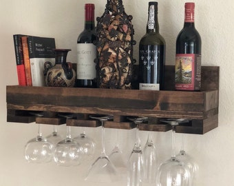 Wine Glass Holder Etsy