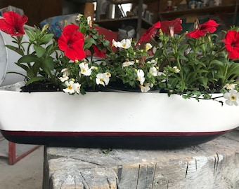 Lobster Boat Planter