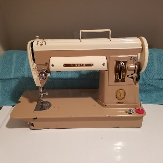 Singer 40A Two Tone Sewing Machine Etsy Fascinating 13608m Singer Sewing Machine