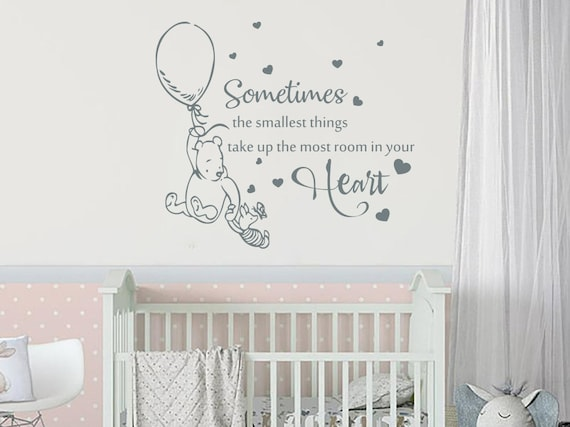 Winnie the Pooh Nursery Room Wall Decal Stickers For Kids Baby Gift Hot Sale