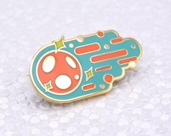 Meteor Hard Enamel Pin