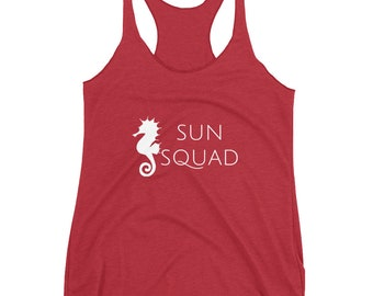 Sun Squad Summer Beach tank top