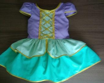The little mermaid costume for kids