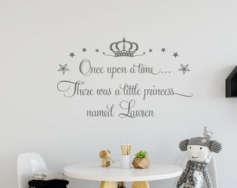 Once Upon a Time - Handmade Children's Decal