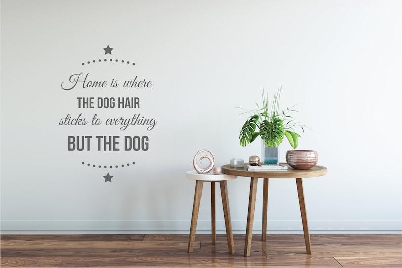 Dog Hair Quality Vinyl Pet Wall DecalSticker