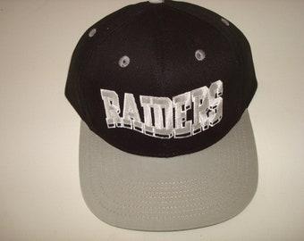 Raiders cap | Etsy