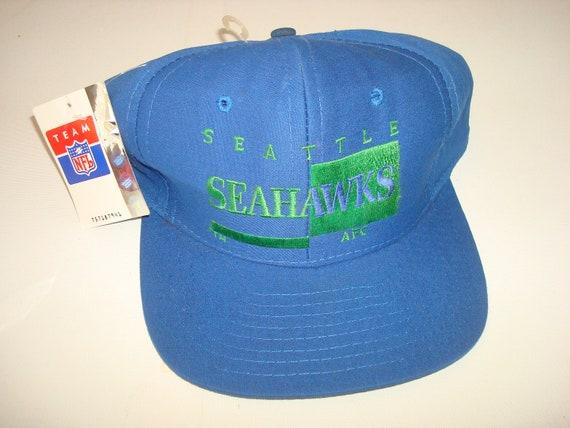 SEATTLE SEAHAWKS  AJD     snapback script hat cap
