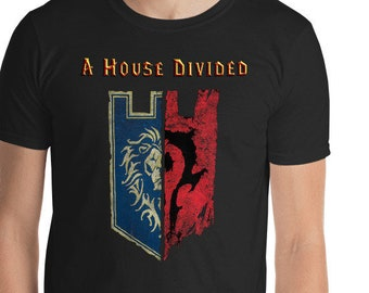 Warcraft House Divided T-shirt