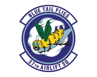 Air Force 61st Airlift Squadron Decal U.S Sticker