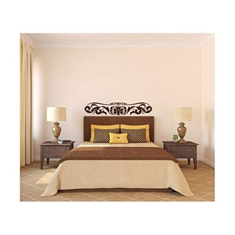 9 tall x 48 wide Elegant Fern Flourish Wall Decal