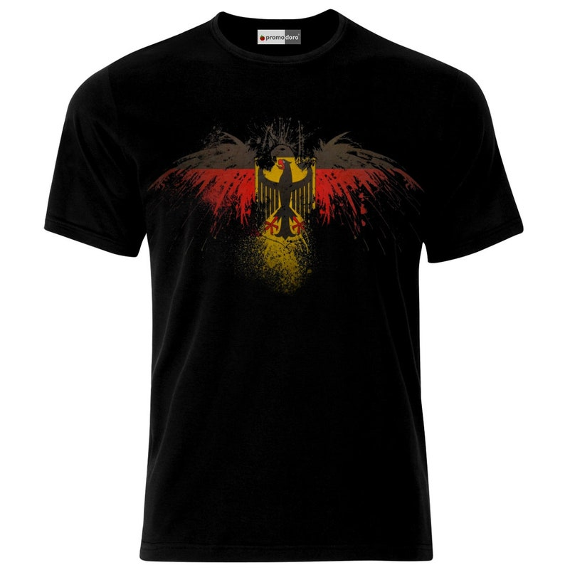 German Eagle Germany Deutschland Deutsche Flagge T-Shirt