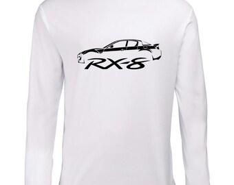 Mazda RX-8 Vintage Longsleeve Shirt T-Shirt