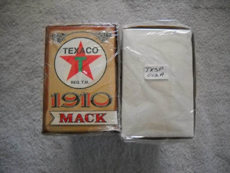 TWO TEXACO  #12-1910 MACK Tanker Truck/'s One Is  A Rare DealerSalesman Sample