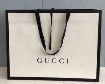 433f20b17ceb GUCCI Shopping Gift Tote Bags LG / MED /