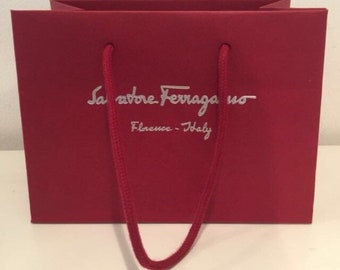 7ff51c42af Salvatore Ferragamo Shopping Gift Tote Bags in Various Sizes