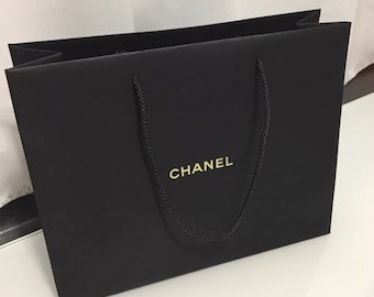 e31bb1969275 Chanel Gold Letters Shopping Gift Tote Bags 13 x 11 x 5
