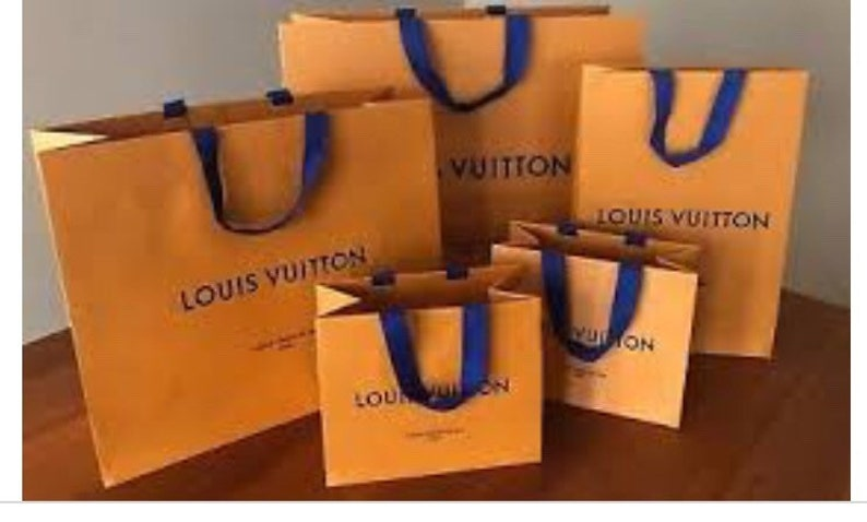 933f5e91ce1 LOUIS VUITTON 1 one Shopping Gift Tote Bags in various sizes   Etsy
