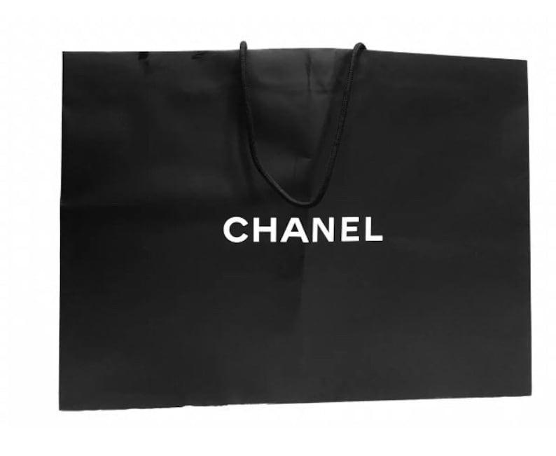 8c95eb8ef809 Chanel Shopping Gift Tote Bags preowned XXL / XL | Etsy
