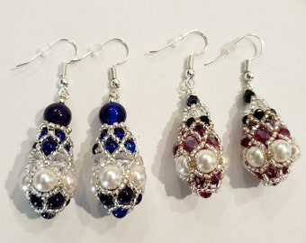 Royal Pendulum Earrings - MADE TO ORDER