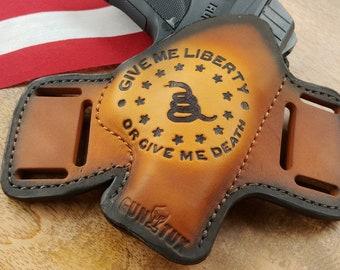 Leather Gun Holster Custom Made