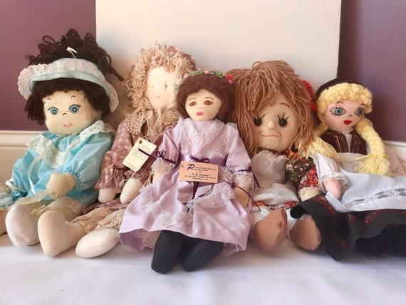 Handmade North Dakota Prairie Doll Collection Etsy