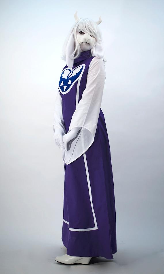 Toriel dress, Undertale Toriel, Undertale cosplay, toriel cosplay, custom  cosplay, Sans, Asriel, Asgore
