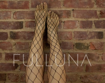 320b21baa30 Black Fishnet Stockings