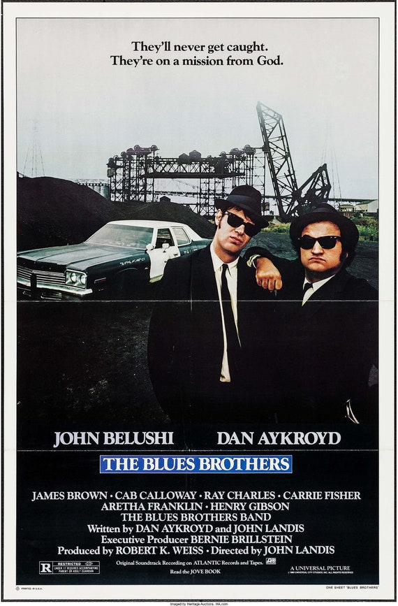 Image result for Blues Brothers poster